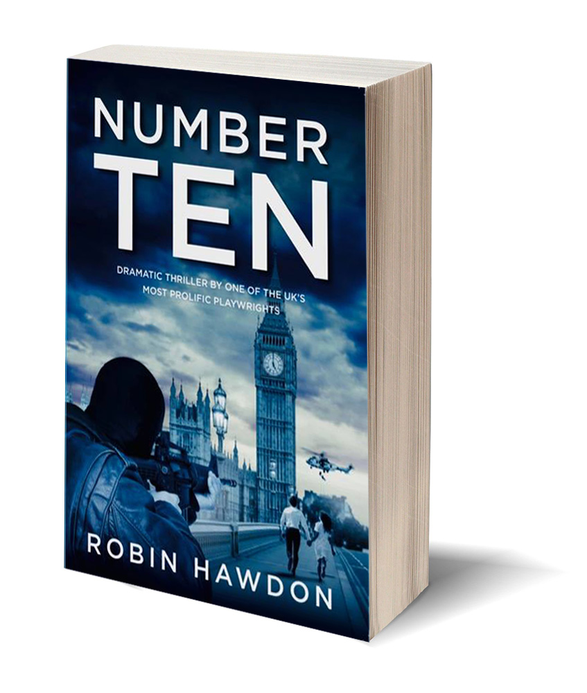 number ten book cover image by robin hawdon